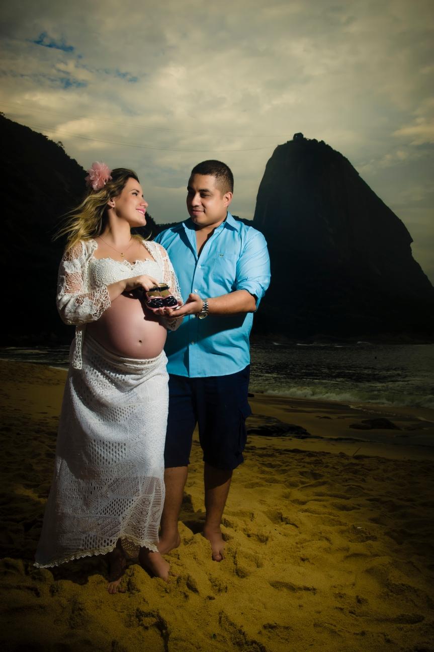 Book de Gestante na Praia Vermelha –RJ